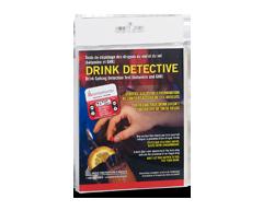 Image du produit Alco Prévention Canada - Drink Detective tests de dépistage des drogues du viol et du vol, 1 unité