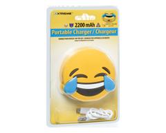 Image du produit Xtreme - Batterie portable Emoji, 1 unité, larmes de joie
