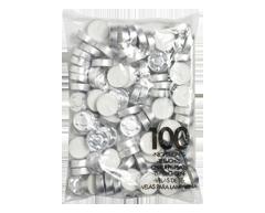 Image du produit Bolsius - Bougies chauffe-plat, 100 unités, non parfumées