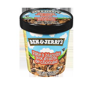 Pâte à biscuits aux brisures de chocolat crème glacée, 500 ml