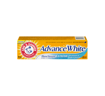 Image 3 du produit Arm & Hammer - Advance White dentifrice, 90 ml, menthe fraîche