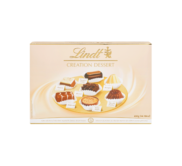 Lindt boîte création dessert, 400 g