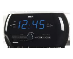 Image du produit RCA - Radio-réveil avec lumière douce (RC220)