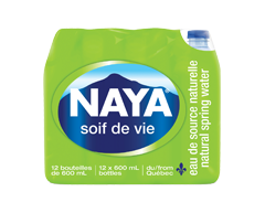 Image du produit Naya Waters - Naya, 12 x 600 ml