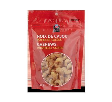 Noix de cajou rôties et salées, 140 g