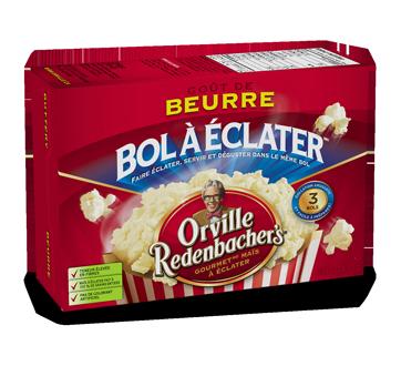 Bol clater ma s au go t de beurre 3 x 82 g orville for Beurre en special cette semaine