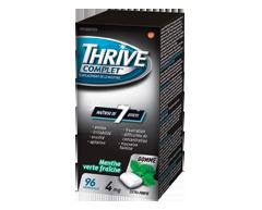 Image du produit Thrive - Complet gomme de remplacement de la nicotine extra forte , 96 unités, menthe verte fraîche