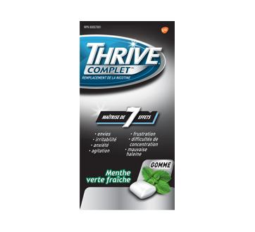 Image du produit Thrive - Gomme Thrive complet 2mg remplacement de la nicotine, 108 unités, menthe verte fraîche