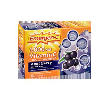 Image 2 du produit Emergen-C - Emergen-C vitamine C, 30 unités, baie d'açai