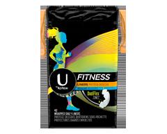 Image du produit U by Kotex - Fitness protège-dessous, 40 unités, absorption légère, non parfumés