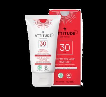 Crème solaire minérale FPS 30, 150 g, sans fragrance