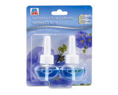 Image du produit PJC - Recharges d'huile parfumée, 2 X 20 ml, linge frais