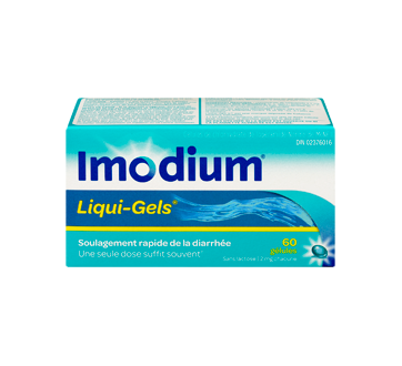 Image 1 du produit Imodium - Liqui-Gels, 60 unités