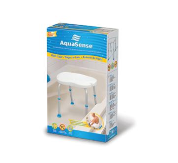 Image du produit AquaSense - Siège de bain sans dossier, blanc