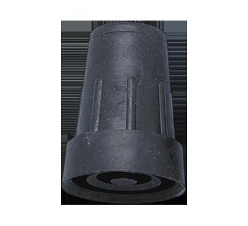 Image du produit Hugo - Embout de canne # 19, 1 unité, noir