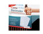 Électrodes autoadhésives- 4 cm x 8 cm- rectangulaire
