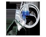Ensemble nébuliseur- masque pour adulte- 3 unités