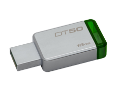 Image du produit Kingston - DataTraveler 50 clé USB 3.0 16Go