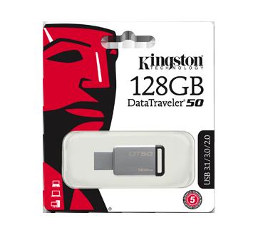 Clé USB 3.0 DataTraveler de 128 Go, 1 unité