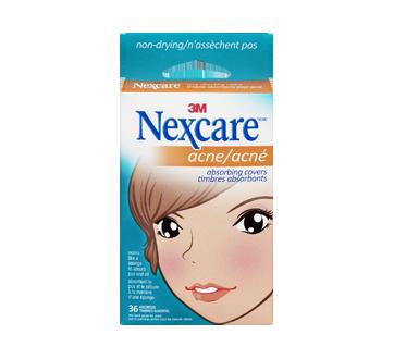 Image du produit Nexcare - Acné timbres absorbants assortis, 36 unités