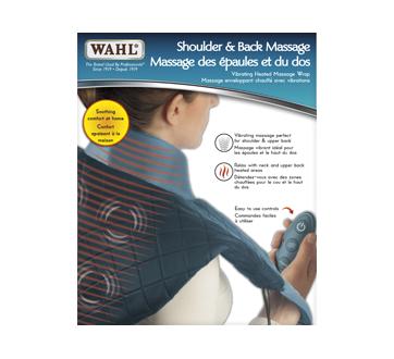 Image du produit Wahl - Appareil de massage enveloppant chauffant pour dos et épaules, 1 unité