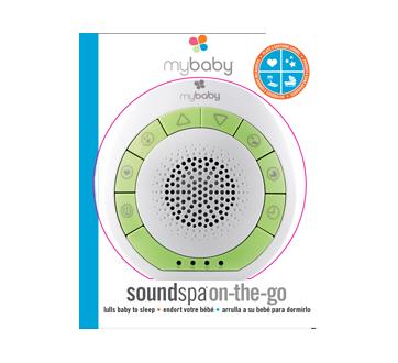 Image du produit MyBaby par HoMedics - SoundSpa appareil sonore portatif, 1 unité