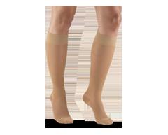 Image du produit Truform - Bas de contention 15-20 mmhg, bas genou, grand, beige