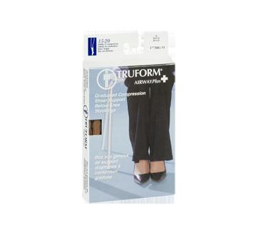 Image 2 du produit Truform - Bas de compression pour femmes, 15-20 mmhg, beige, moyen