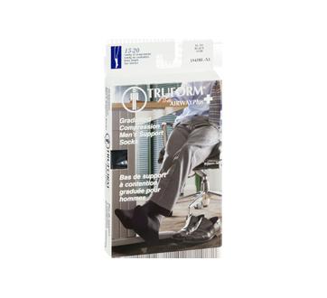 Image 2 du produit Truform - Bas de compression pour femmes, 15-20 mmhg, noir, très grand