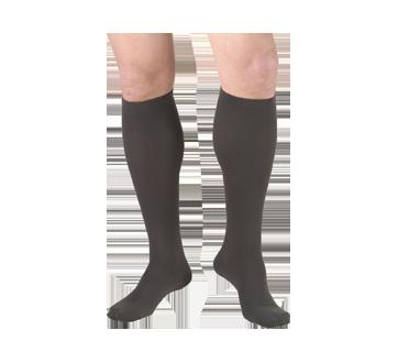 Image du produit Truform - Bas de contention 15-20 mmhg, bas pour hommes, très grand, charbon