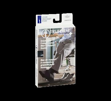 Image 2 du produit Truform - Bas de compression pour femmes, 15-20 mmhg, charbon, moeyn