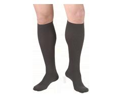 Image du produit Truform - Bas de contention 15-20 mmhg, bas pour hommes, petit, charbon