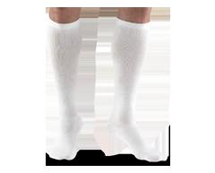Image du produit Truform - Bas de contention 15-20 mmhg, bas pour homme, petit, blanc