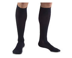 Image du produit Truform - Bas de contention 15-20 mmhg, bas pour homme, petit, marine