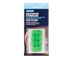 Image du produit Personnelle - Bouchons d'oreilles en silicone mou pour enfants, 6 paires