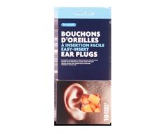Image du produit Personnelle - Bouchons d'oreilles à insertion facile, 10 paires