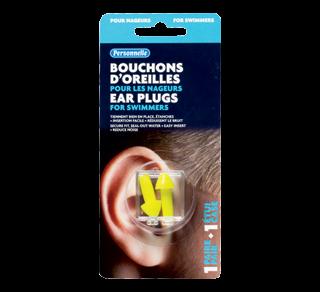 Bouchons d'oreilles pour les nageurs, 1 unité