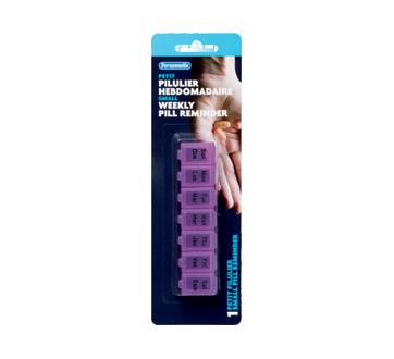 Image du produit Personnelle - Pilulier hebdomadaire, 1 unité, petit