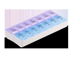 Image du produit Personnelle - Pilulier hebdomadaire 2x par jour, 1 unité
