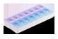 Vignette du produit Personnelle - Pilulier hebdomadaire 2x par jour, 1 unité