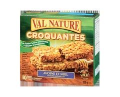 Image du produit Val Nature - Barres croquantes avoine et miel, 230 g