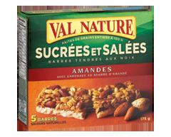 Image du produit Val Nature - Barres amandes sucrées salées, 175 g