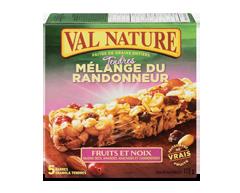 Image du produit Val Nature - Barres mélange du randonneur fruits et noix, 175 g