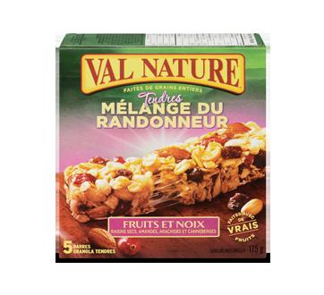 Barres mélange du randonneur fruits et noix, 175 g