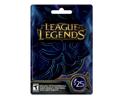 Image du produit Incomm - Carte-cadeau League of Legends de 25 $, 1 unité