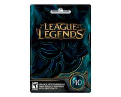 Image du produit Incomm - Carte-cadeau League of Legends de 10 $