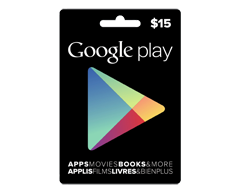 Image du produit Incomm - Carte-cadeau Google Play de 15 $