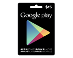 Carte-cadeau Google Play de 15 $