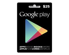 Image du produit Incomm - Carte-cadeau Google Play de 25 $