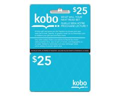 Image du produit Incomm - Carte-cadeau Kobo de 25 $